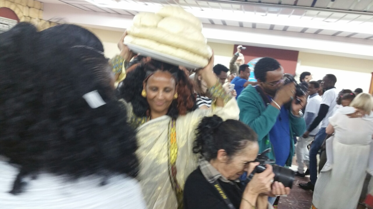 Zemen in Israel the Eritrean residents activity